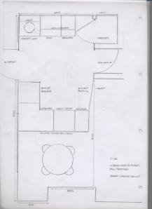 Brixham kitchen floor plan