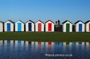Beach Huts, Broadsands_Wm